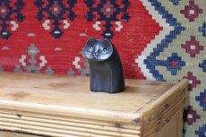 画像14: 白山陶器  動物オーナメント 黒 (14)