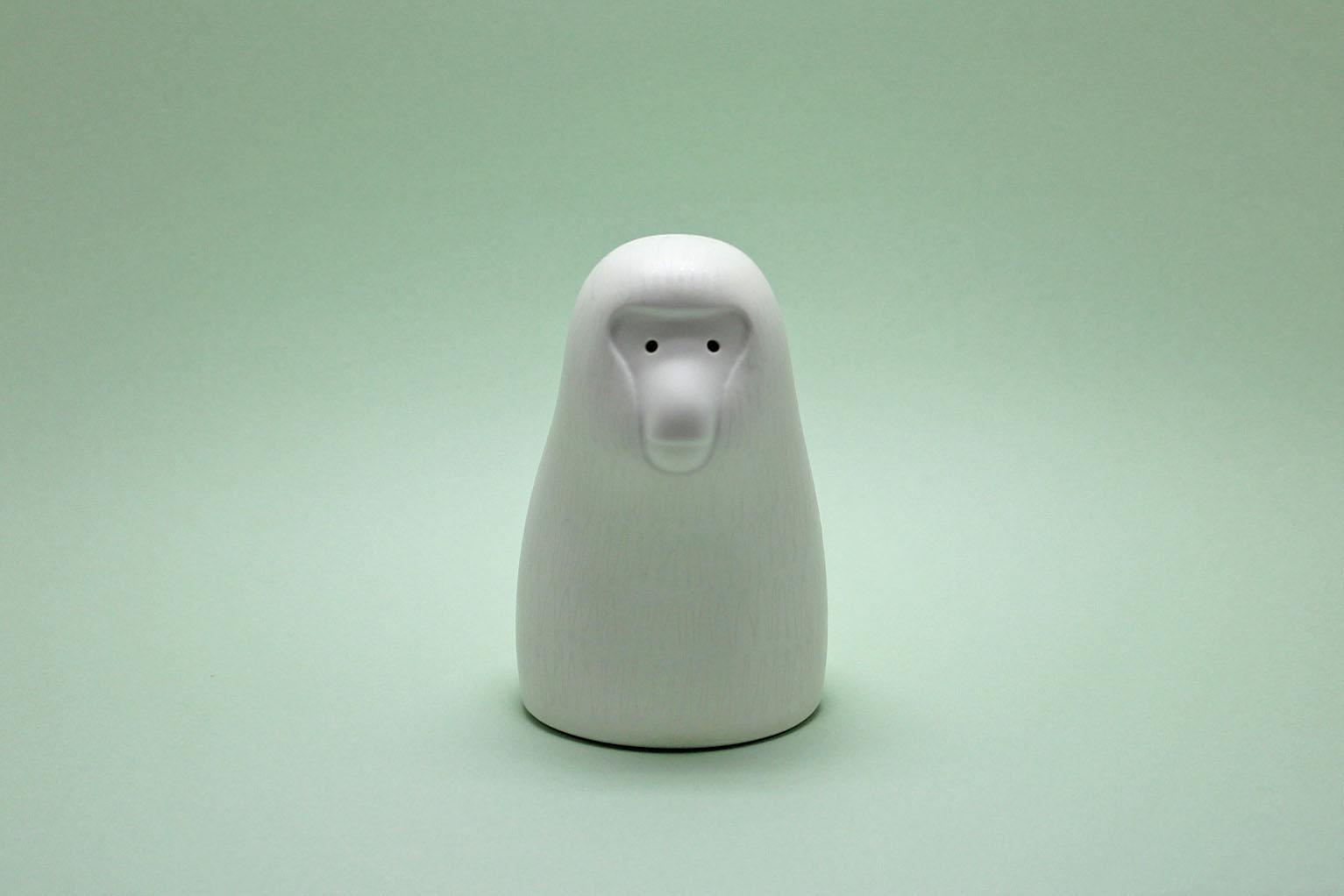 画像1: Pebble Ceramic Design Studio  干支のオーナメント さる (1)