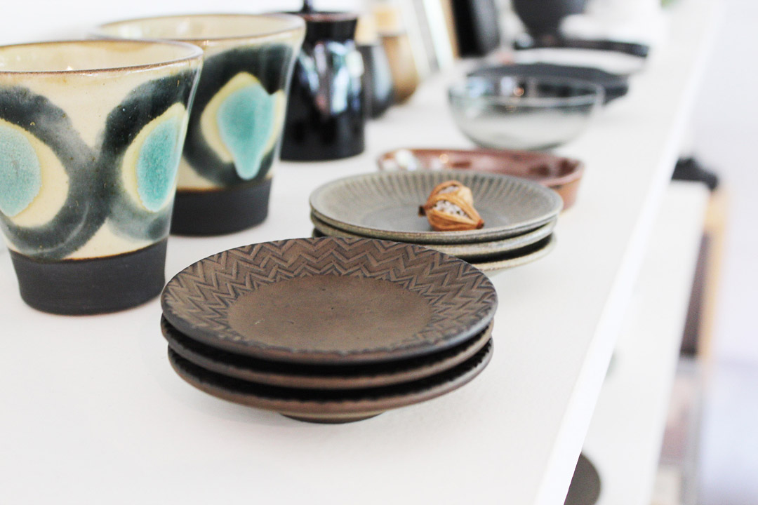 画像1: タナカマナブ 3寸皿 (1)