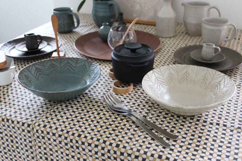 画像1: タナカマナブ  6寸鉢 (1)