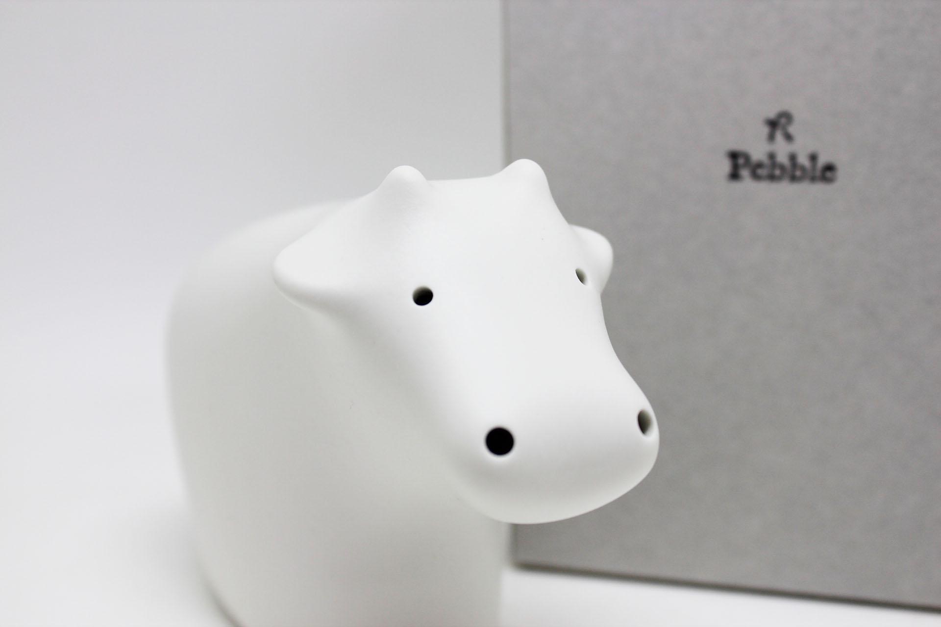 画像1: Pebble Ceramic Design Studio  干支オーナメント うし (1)