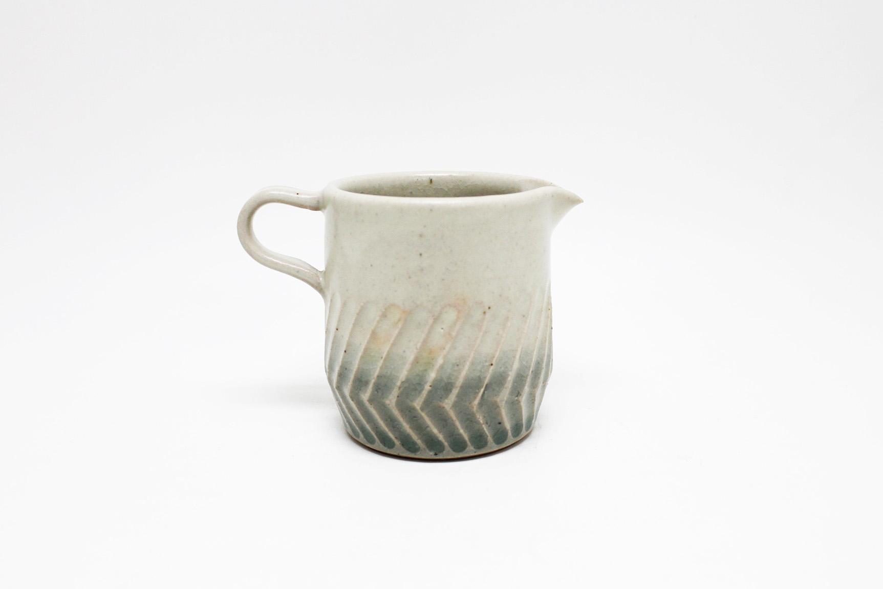 画像1: Mishin pottery creation  「soak」 ミルクピッチャー (1)