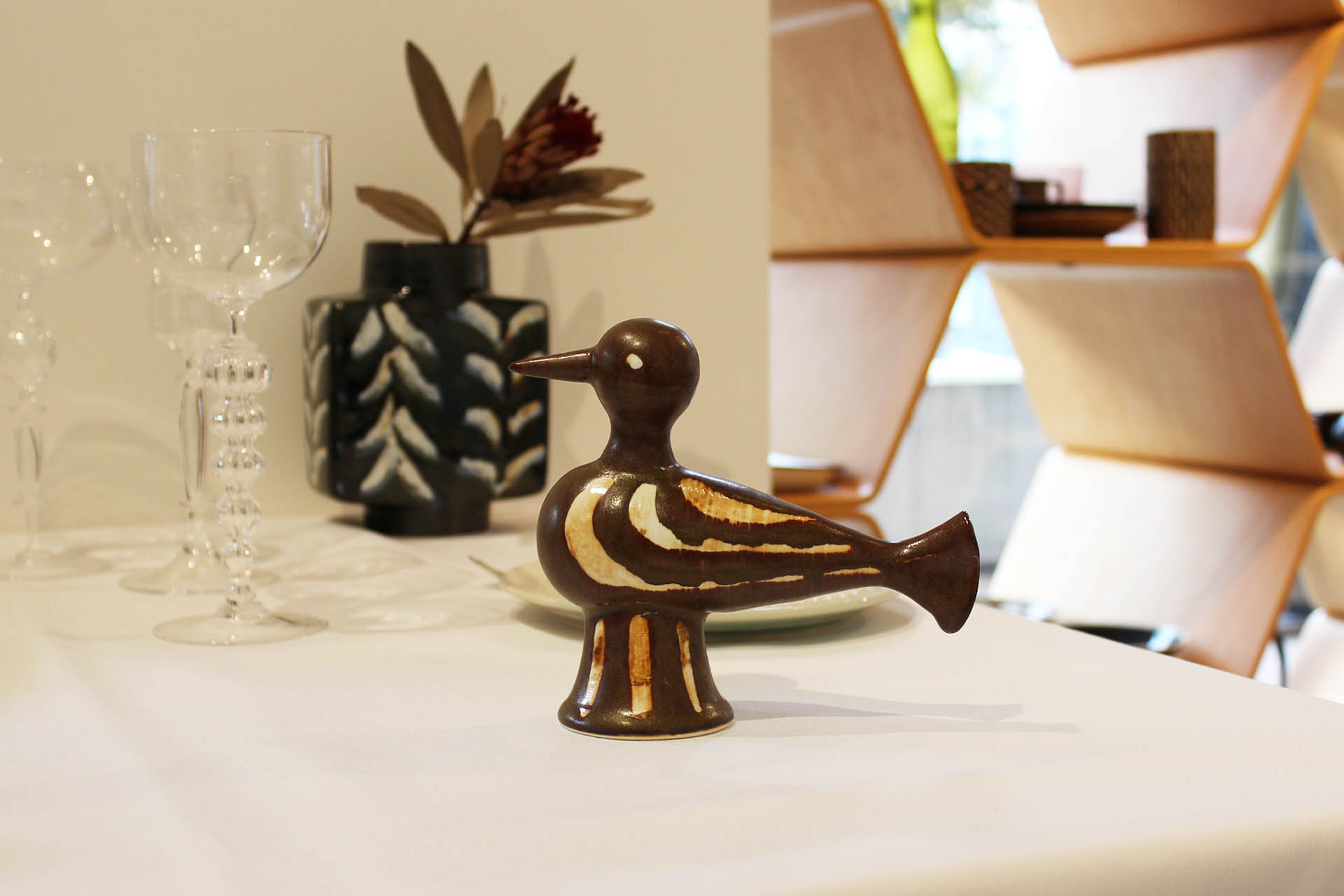 画像1: Pebble Ceramic Design Studio Brick Bird M-02 (1)