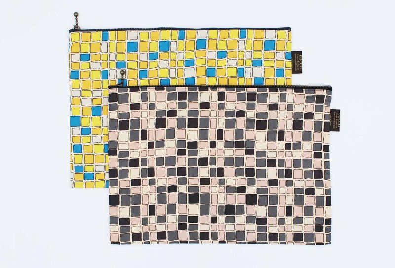 画像1: cocca   tile ポーチ (1)